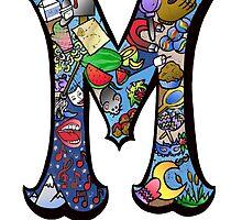 Doodle Letter M by missmann