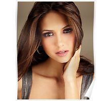 Beautiful Face Nina Dobrev The Vampire Diaries 2 Poster