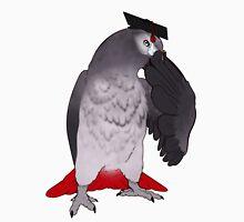 Bird Brained Africa Grey Unisex T-Shirt