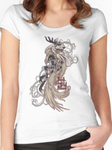 Vicar Amelia - Bloodborne (white dress version) Women's Fitted Scoop T-Shirt