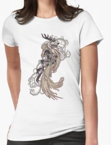 Vicar Amelia - Bloodborne (white dress, no text version) Womens Fitted T-Shirt