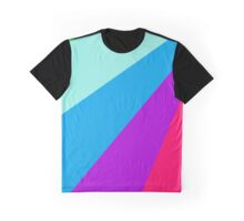 Colorful Sunlight Rays Graphic T-Shirt