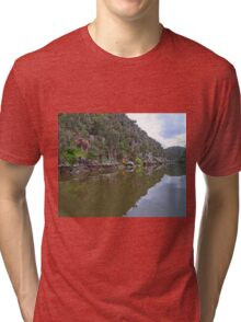 Cataract Gorge, Launceston, Tasmania, Australia Tri-blend T-Shirt