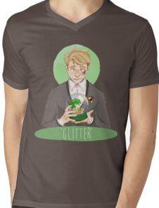 """Glitter"" Mens V-Neck T-Shirt"