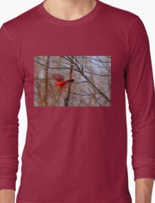 Cardinal Red Long Sleeve T-Shirt