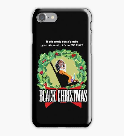 Black Christmas - Original Slasher iPhone Case/Skin