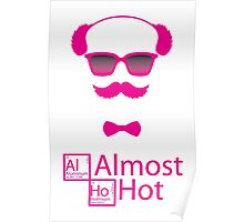 Pink Almost Hot Breaking Bad Poster