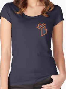 Isometric Michigan (Detroit Tigers) Women's Fitted Scoop T-Shirt