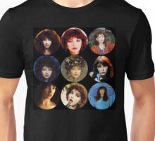 Kate Bush Faces Unisex T-Shirt