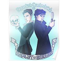 Benedict Cumberbatch as Hamlet x Sherlock Poster