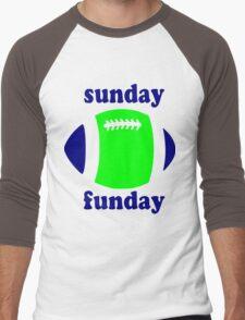 Super Bowl Sunday Funday - Seattle Men's Baseball ¾ T-Shirt