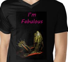Fabulous Turtle Mens V-Neck T-Shirt