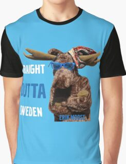 Straight Outta Erik Graphic T-Shirt