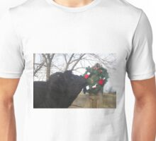 Checking the Wreath Unisex T-Shirt