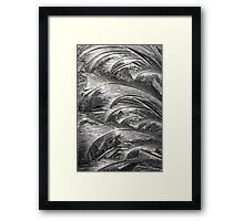 Ice Patterns 2 Framed Print