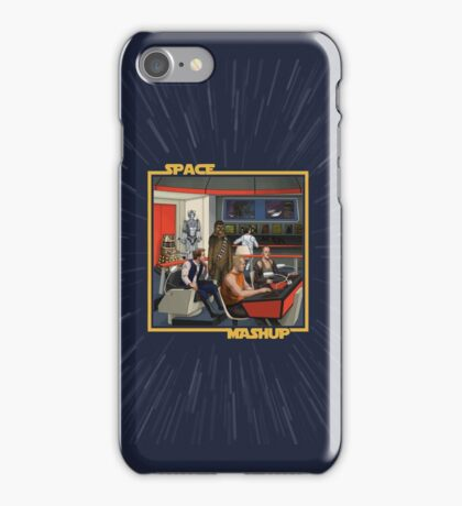 Space Mashup iPhone Case/Skin