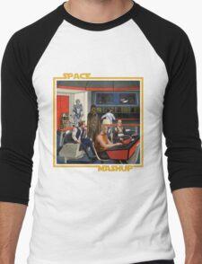 Space Mashup Men's Baseball ¾ T-Shirt