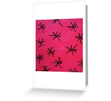 Abstract Fluoro 14  Greeting Card