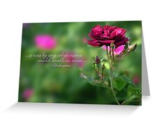 A rose by any other name... (card) Greeting Card