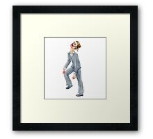 Zombie Business Woman Framed Print