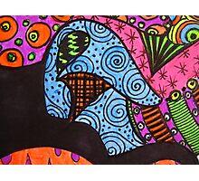 Abstract Fluoro 10  Photographic Print