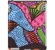 Abstract Fluoro 10  iPad Case/Skin