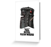 Full Metal Mashup!!! - Born to Duel Greeting Card