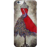 Peacock Mannequin iPhone Case/Skin