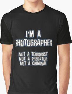 Funny Photographer Shirt Graphic T-Shirt