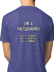Funny Photographer Shirt Tri-blend T-Shirt