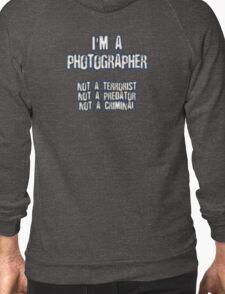 Funny Photographer Shirt Zipped Hoodie
