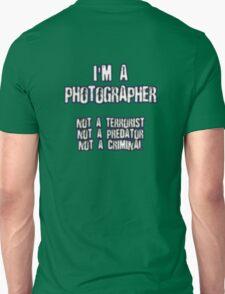 Funny Photographer Shirt T-Shirt