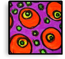 Abstract Fluoro 8  Canvas Print