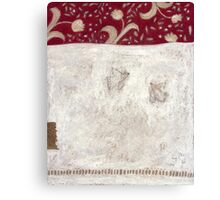 Two white doves Canvas Print