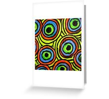 Abstract Fluoro 6  Greeting Card