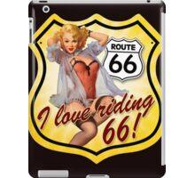 route 66 : i love Riding iPad Case/Skin