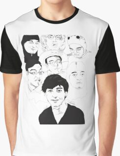 Filthy Frank Sketch Art Graphic T-Shirt