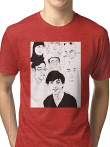 Filthy Frank Sketch Art Tri-blend T-Shirt