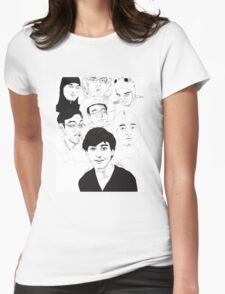 Filthy Frank Sketch Art Womens Fitted T-Shirt