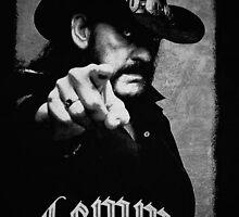 Lemmy by EATSHARKS
