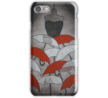 Mannequin of Umbrellas iPhone Case/Skin