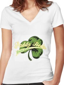 Paddy's Pub Women's Fitted V-Neck T-Shirt