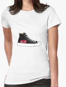 Comme des garcons x Converse Womens Fitted T-Shirt