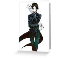 Sebastian Michaelis Greeting Card