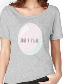 Just A Pearl Women's Relaxed Fit T-Shirt