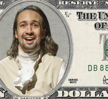 The Ten Dollar Founding Father Sticker