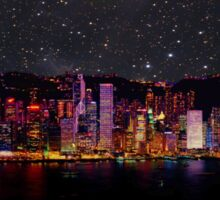 Hong Kong Skyline Sticker