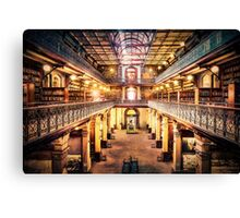 Let Us Retire to the Library      (RVR) Canvas Print