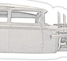 1930 Rat Rod Sticker