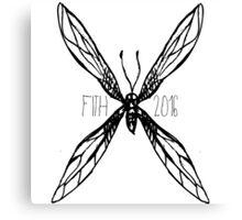 FITH Bug Canvas Print